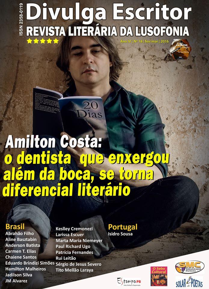 Entrevista com Isidro Sousa publicada na revista literária «DIVULGA ESCRITOR»