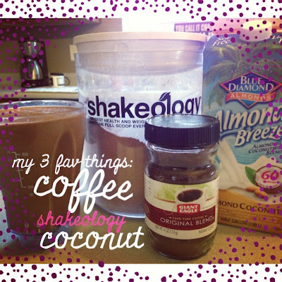 coconut coffee shakeology