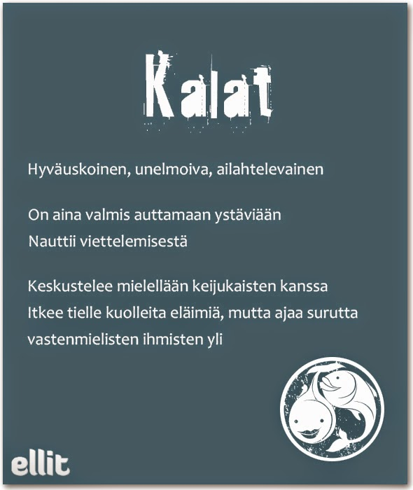 hauskat horoskoopit Paimio