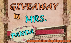 FIRST GIVEAWAY by MRS. PANDA | 1 Jun 2015 / Tamat 11.59 p.m 14 Jun 2015
