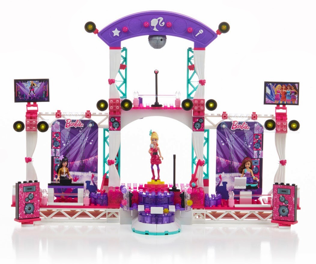Mega Bloks Barbie Rock Star