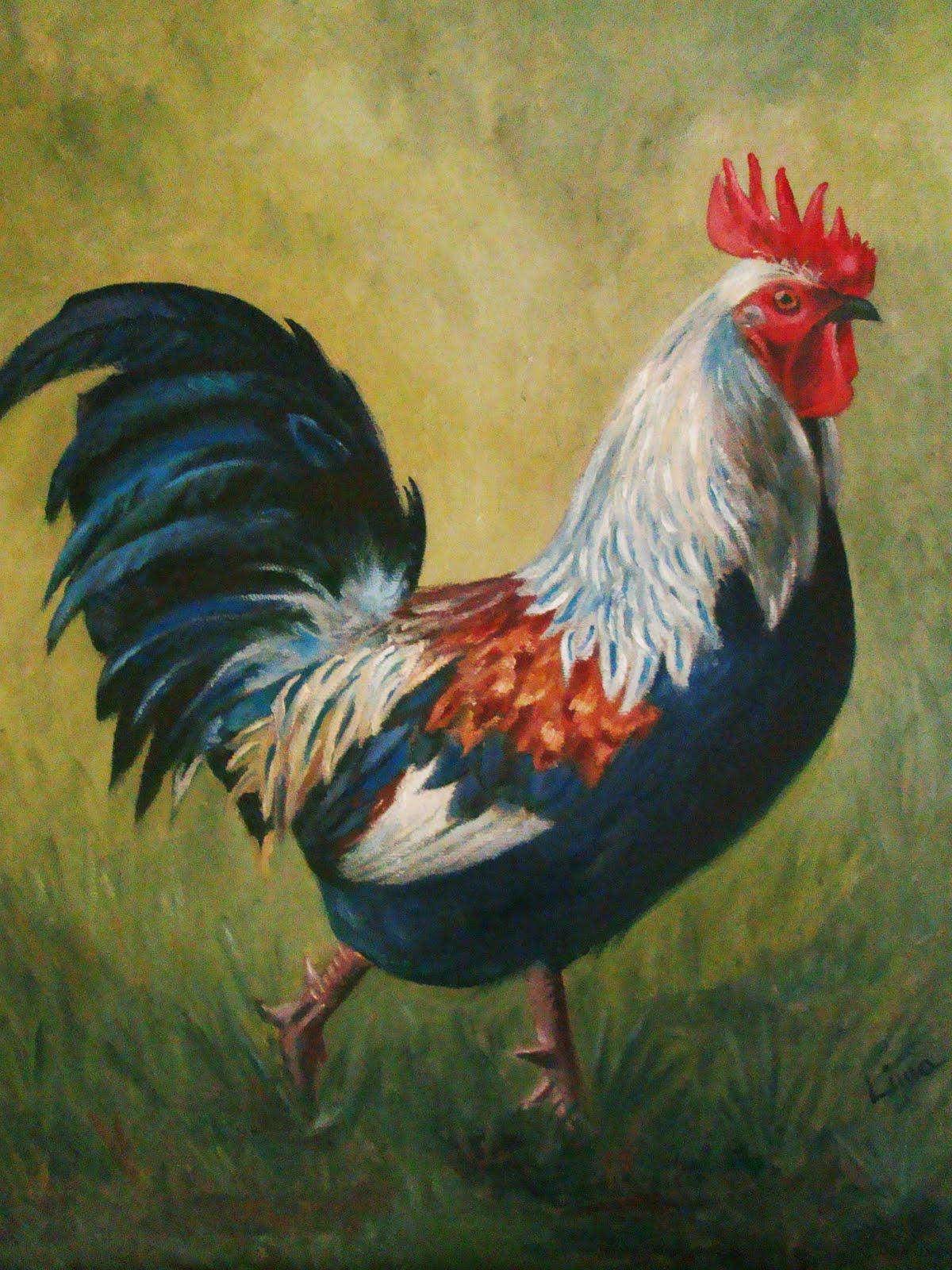 IPLima Pinturas  El gallo de Rosal  a de Castro