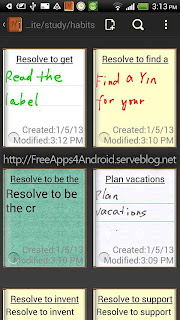 Handrite note Notepad Pro Free Apps 4 Android