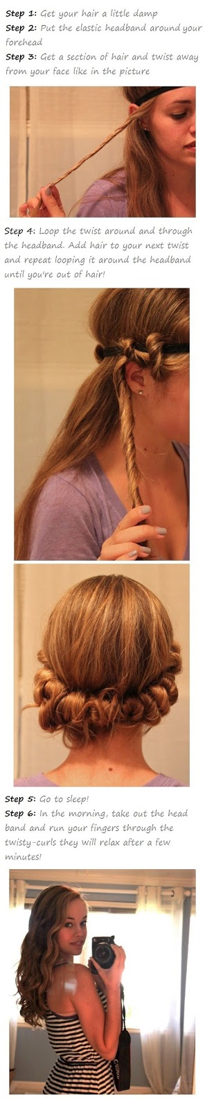 How to make twisty curls