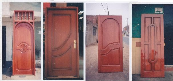 Puertas de madera puertas madera for Modelos de puertas principales para casas