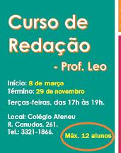 CURSO DE REDAÇÃO - 2016
