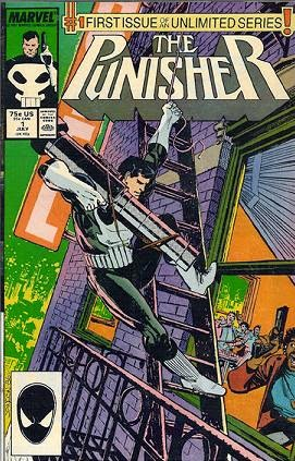 Punisher #1 comic cover