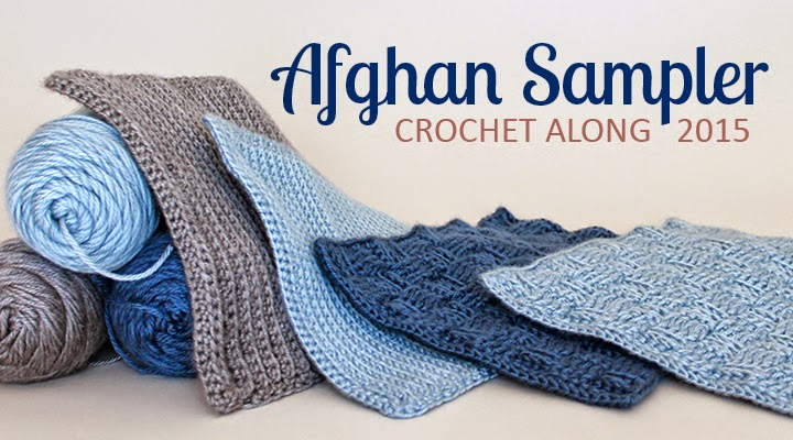 Crochet Stitches Sampler : ... Wren: Crochet Square 2, February of the Crochet Along Afghan Sampler