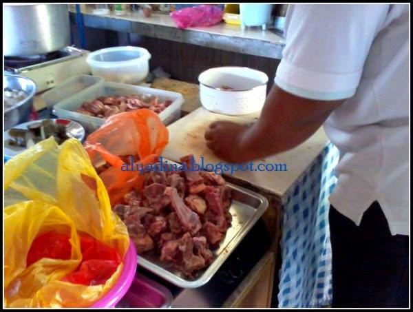 cara potong daging