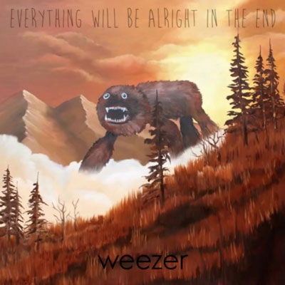 The 10 Best Album Cover Artworks of 2014: 04. Weezer - Everything Will Be Alright in the End