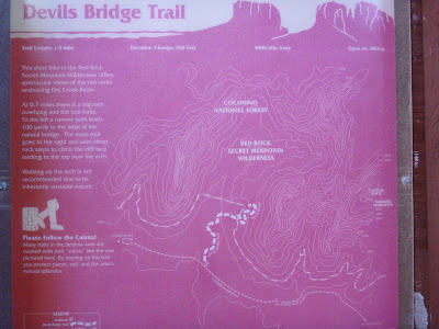 Devil's Bridge Trailhead Signage