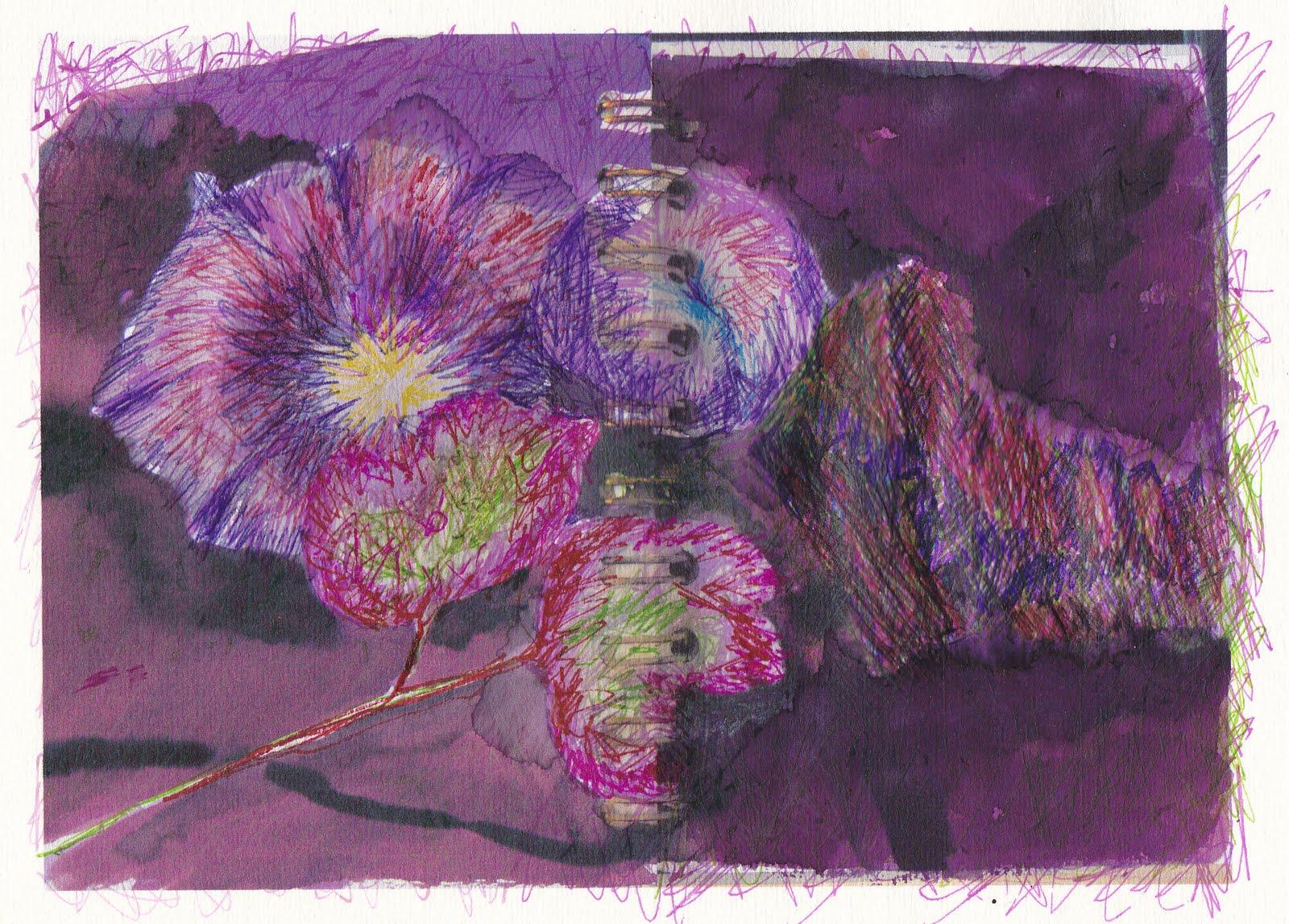 Scribble Drawing Uk : Stitch loop sketchbook day scribble away