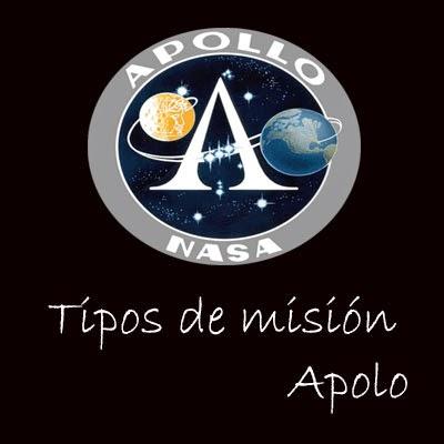 Tipos de misión Apolo