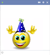 Happy Birthday - Talking emoticon
