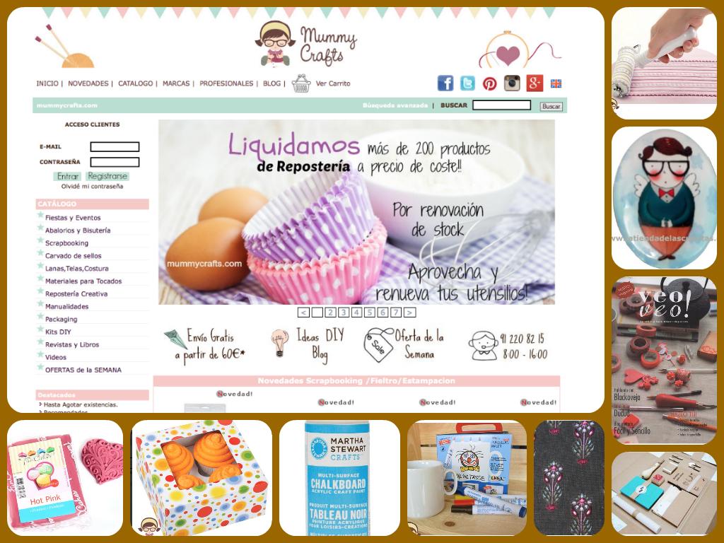 Mummy Crafts tienda de material manualidades on line