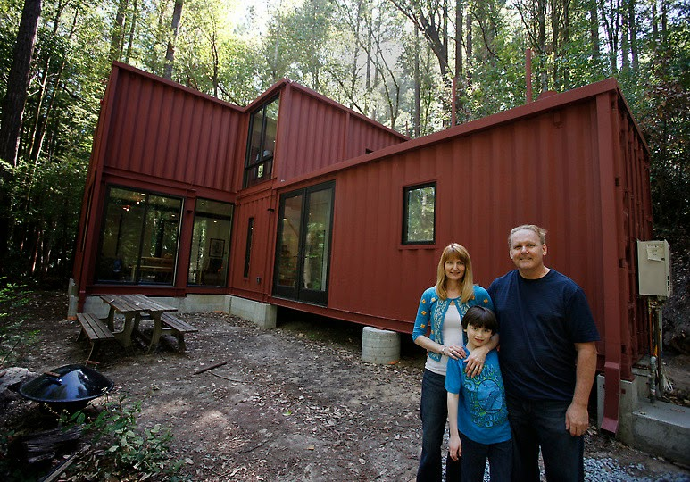 7.) The best part about this one is that you know they made it out of shipping containers. - All You Need is Around $2000 to Begin Building One of These Epic Homes – Made From Recycled Shipping Containers!