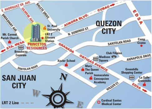 Manila condo for Terrace 45 quezon city