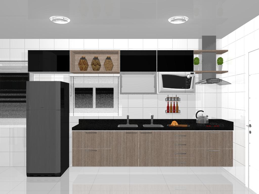 For cozinha americana cozinha planejada cozinha americana cozinhas #A76524 1024 768