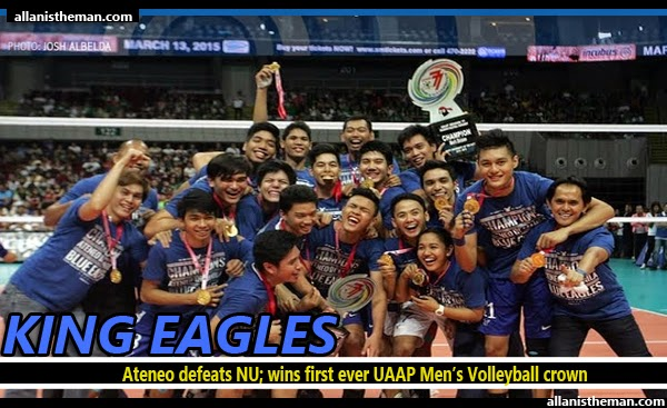 Ateneo dethrones NU; wins first-ever UAAP Men's Volleyball crown