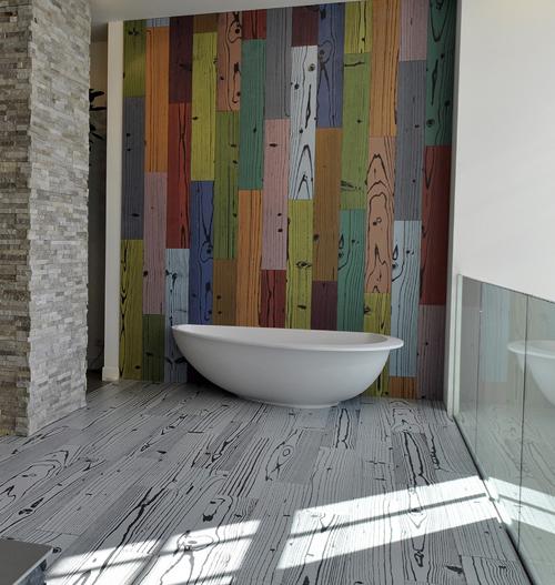Lindo Designs Funky Tile Interior Design