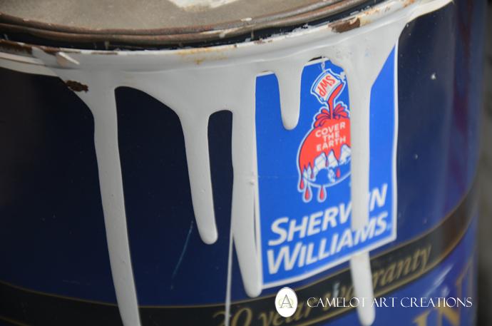 Sherwin Williams FREE paint, 3/4 full from the Hazardous Waste Dump!