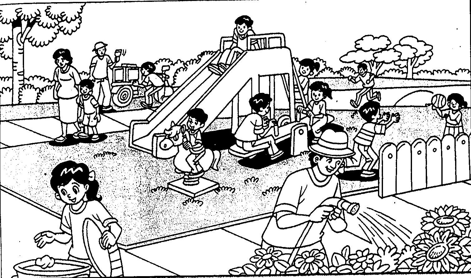 Gambar Kartun Gotong Royong Di Rumah Gotong Royong Catatan Mr Supri Gotong Royong Kssr Bm