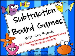 https://www.teacherspayteachers.com/Product/Subtraction-235441