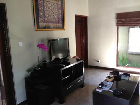 The Ulin Villa & Spa Living Room
