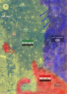 Aleppo mujahidin assad isis
