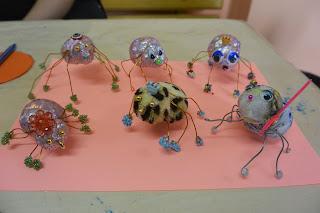 Детское творчество. Мир насекомых