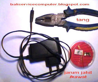 adapter tablet china tidak ngecas