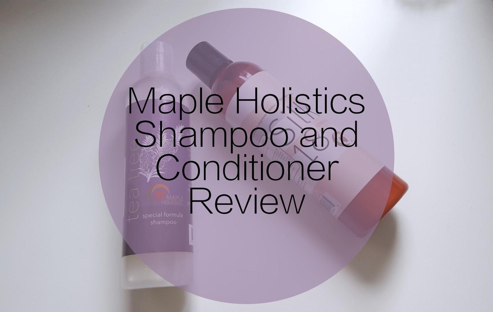 Tea Tree Special Formula Shampoo Silk 18 Conditioner Maple Holistics