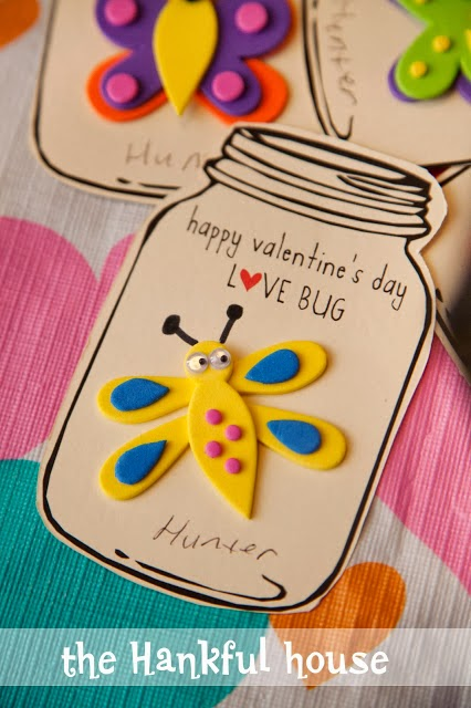 Kids Class Valentines Day Cards The Hankful House – Class Valentine Cards