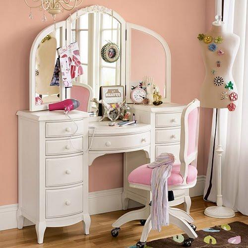 A oficina feminina inspira o penteadeiras for Womens dressing table