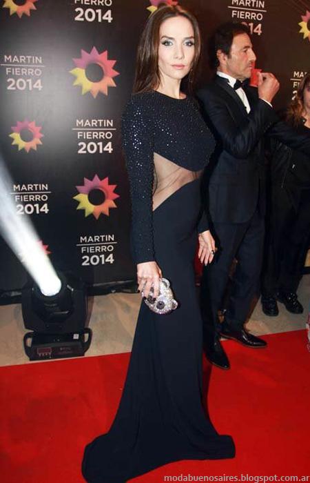 Looks Martin FIerro 2014. Moda Argntina en la Alfombra roja. Moda 2014.