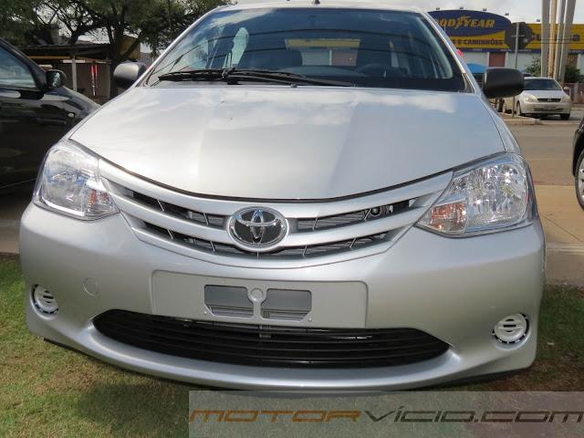 Toyota Etios 2014 - Tabela de Preços