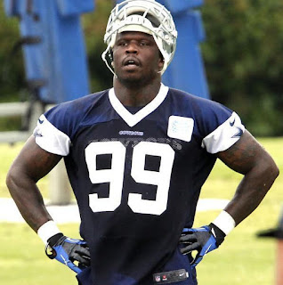 Anthony Hargrove Dallas Cowboys OTA