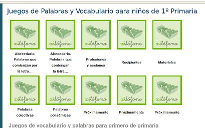 http://www.mundoprimaria.com/juegos-lenguaje/juegos-de-palabras-vocabulario-1o-primaria