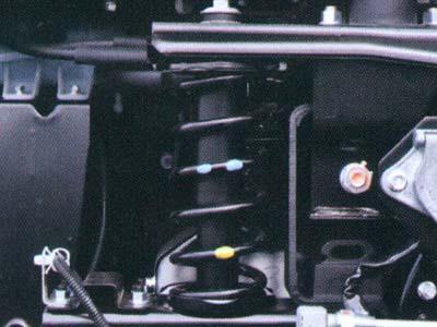 Coil Spring Suspension Cabin Tractor Head FV