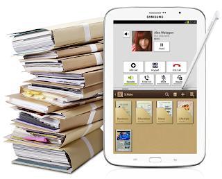 Samsung Galaxy Note 8.0 Digital Diary