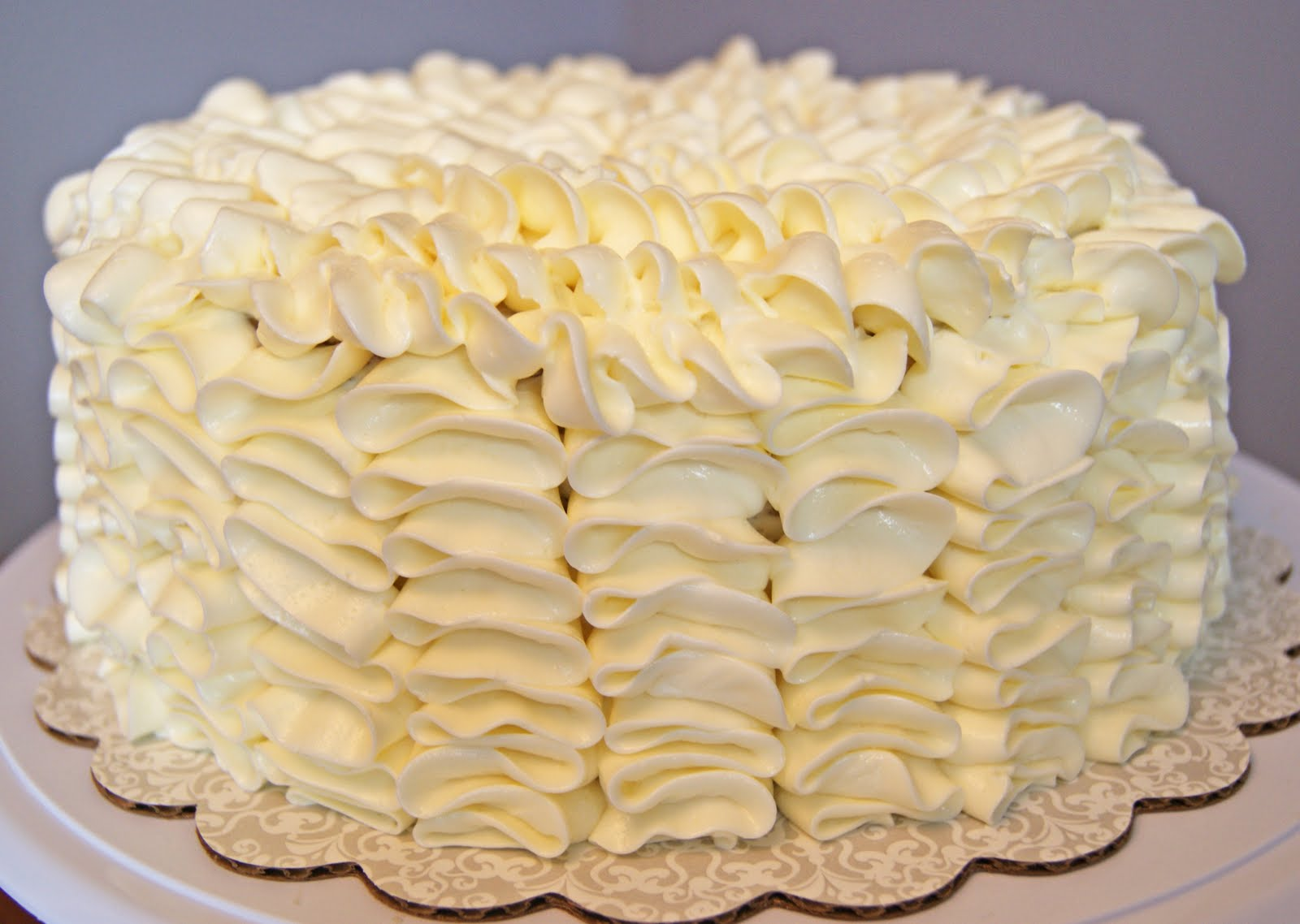 ... ! by Bec: Banana Cake with White Chocolate Swiss Meringue Buttercream
