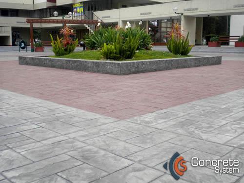 Concrete system concreto decorativo para pisos y muros - Suelo caucho barato ...