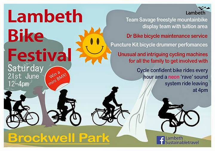 Lambeth Bike Festival flyer