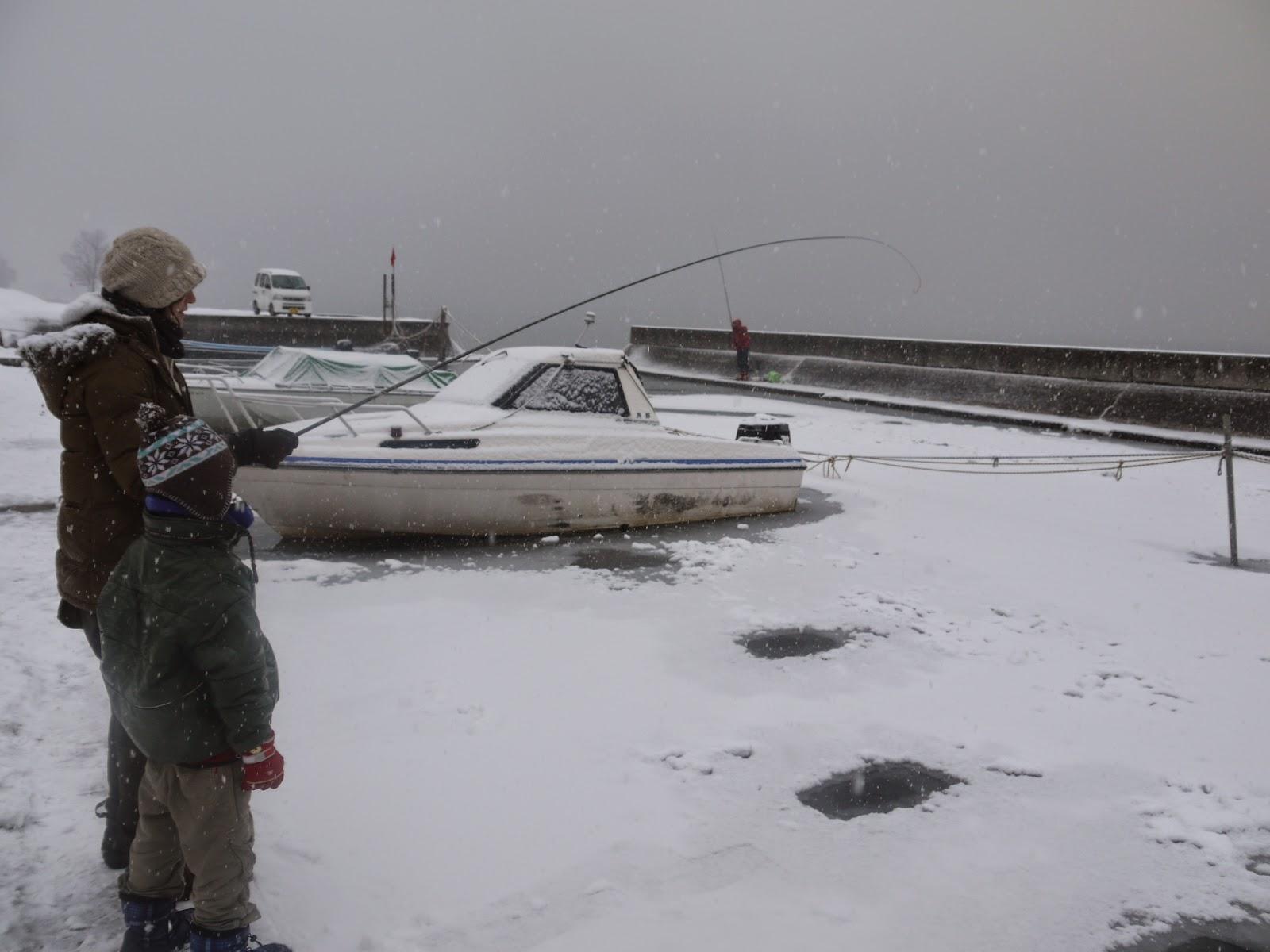 実は釣りにはまっていたのは子供の頃を思い出した奥さんでした