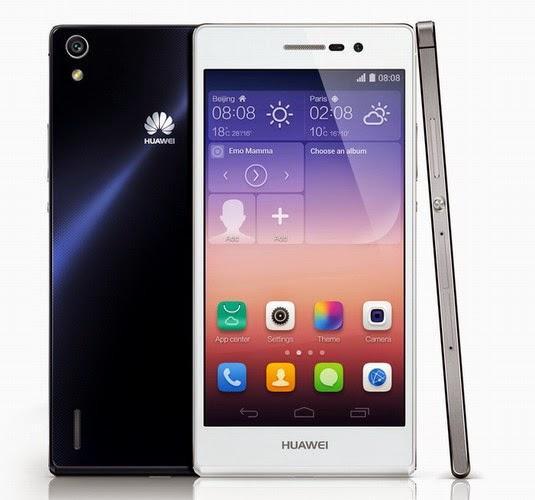 Harga hp Huawei Ascend P7