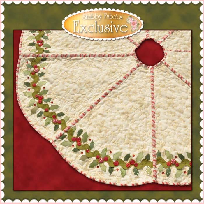 free christmas tree skirt quilting patterns