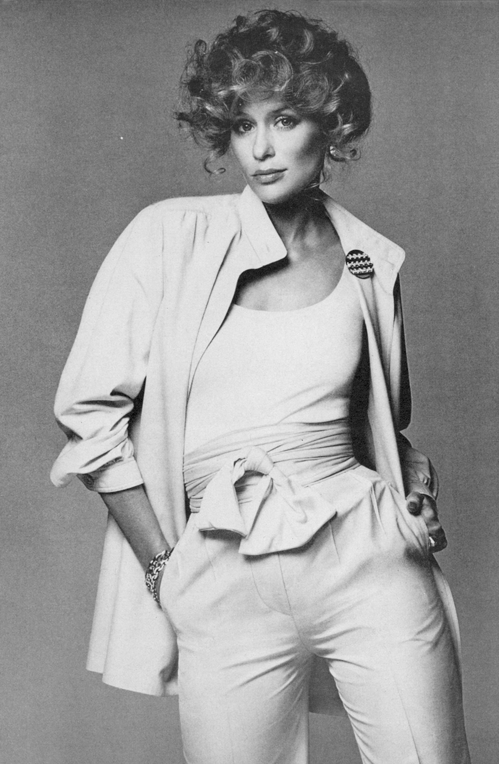 Lauren Hutton in Vogue US January 1974 via fashioned by love british fashion blog