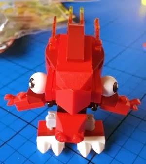 Mixels Lego 41500 Flain figure