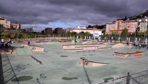 Granada en skate skateparks for Piscina cubierta bola de oro granada