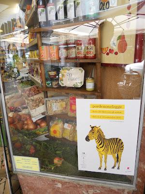 zebre nei negozi a pordenone